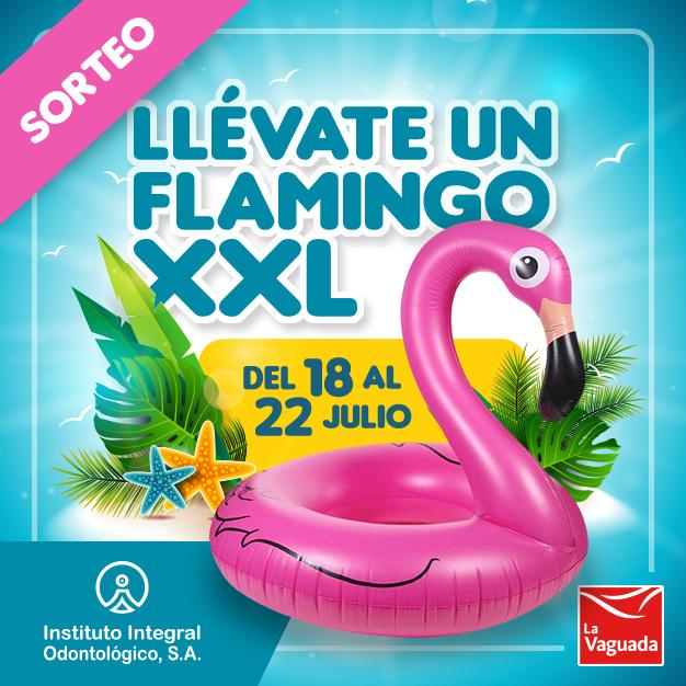 ¡¡SORTEO!! – Este verano llévate un FLAMINGO XXL